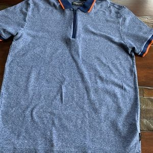 Casual Zip Polo